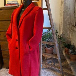 JCrew Factory Boiled Wool Topcoat